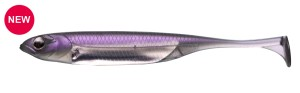 "Flash‐J Shad SW 4"" KEIMURA PURPLE/SILVER #122"